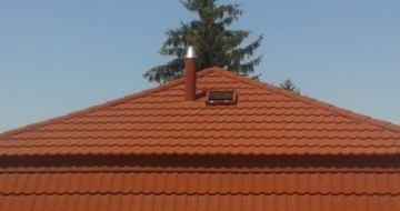 Családi ház, manzárd tető